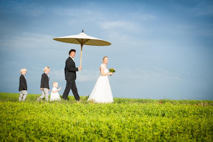 Familien Hochzeit
